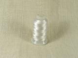 Шелковая нить, толщина 0,33 мм (E), белый (1 метр)