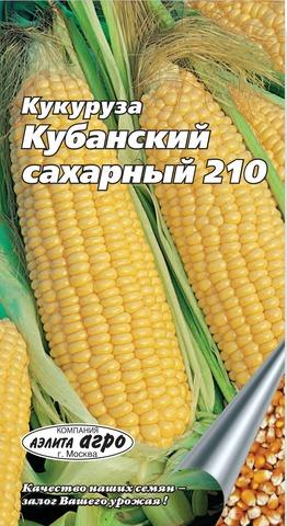 Семена Кукуруза Сахарная Кубанский Сахарный 210, б\п