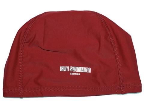 Шапочка для плавания тканевая: AL-1117-ц  (Красный)