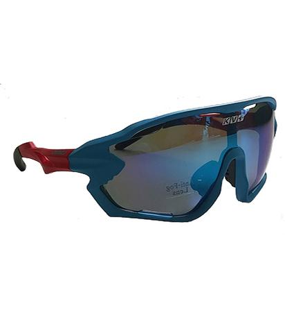 Спортивные очки KV+  DELTA синие линзы с вентиляцией