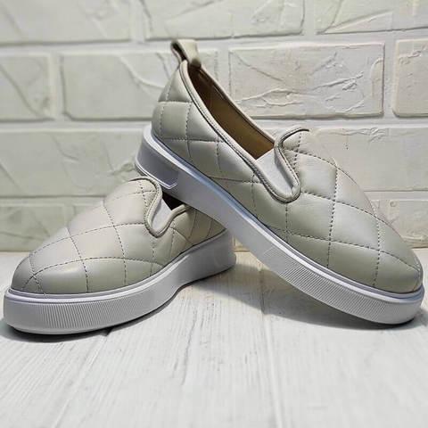 Туфли слипоны женские Alpino 21YA-Y2859 Cream.