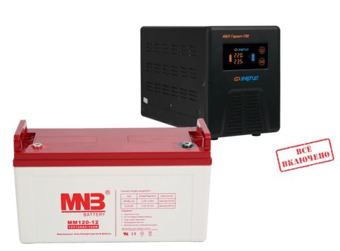 Комплект ИБП Гарант 500+MNB 120-12
