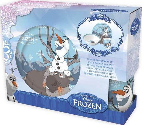 Холодное сердце Олаф Набор керамической посуды — Posuda Frozen