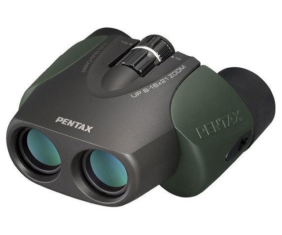 Универсальный бинокль Pentax UP 8-16 21, темно-зеленый
