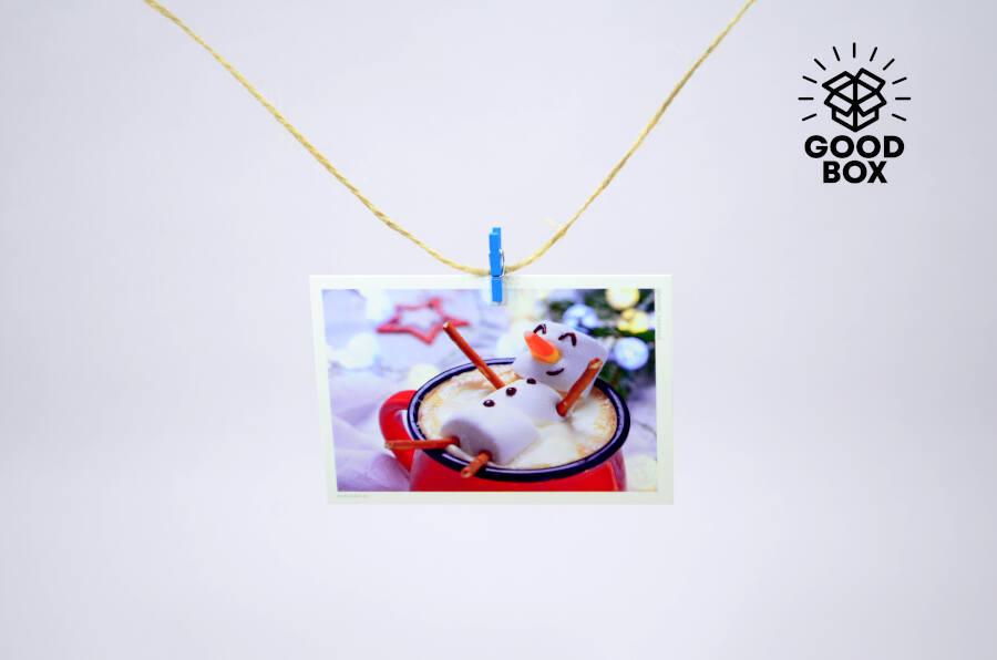 Новогодние открытки купить в Алматы