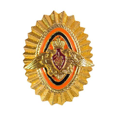 Кокарда пограничные войска офицерская золотая