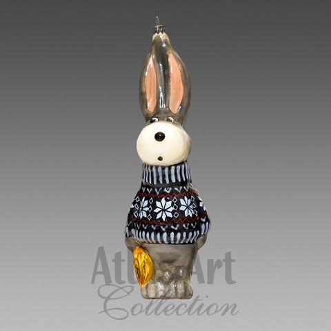 Зайчик с совочком