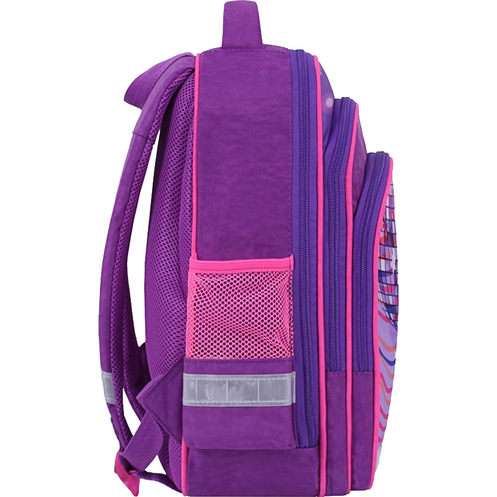 Рюкзак школьный Bagland Mouse 339 фиолетовый 503 (0051370) фото 2