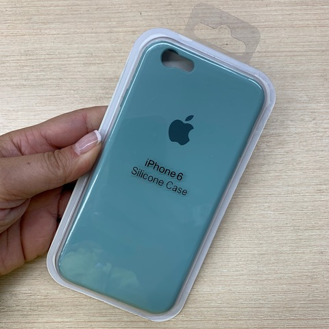 Чехол iPhone 6S Silicone Slim Case /mint/
