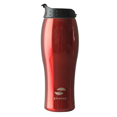 Термокружка Stinger  (HY-VF122-R) 04 литра красная