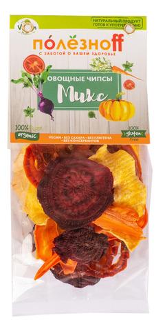 Овощные чипсы ПолезноFF  Микс, 25 г