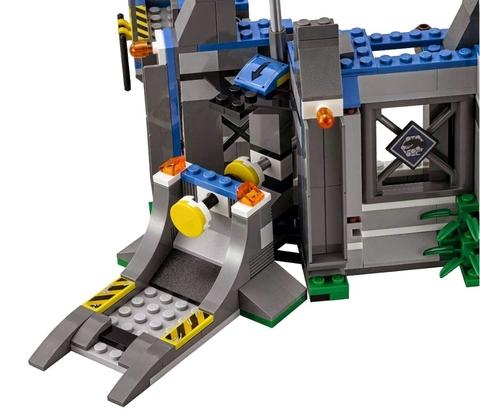 LEGO Jurassic World: Побег Ультра Динозавра 75919 — Indominus Rex Breakout — Лего Мир Юрского периода