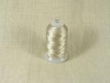 Шелковая нить, толщина 0,38 мм (FF), бежевый (1 метр)
