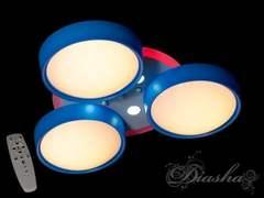 B001BL dimmer Идеальная люстра для детской комнаты с пультом, диммером и подсветкой 85W
