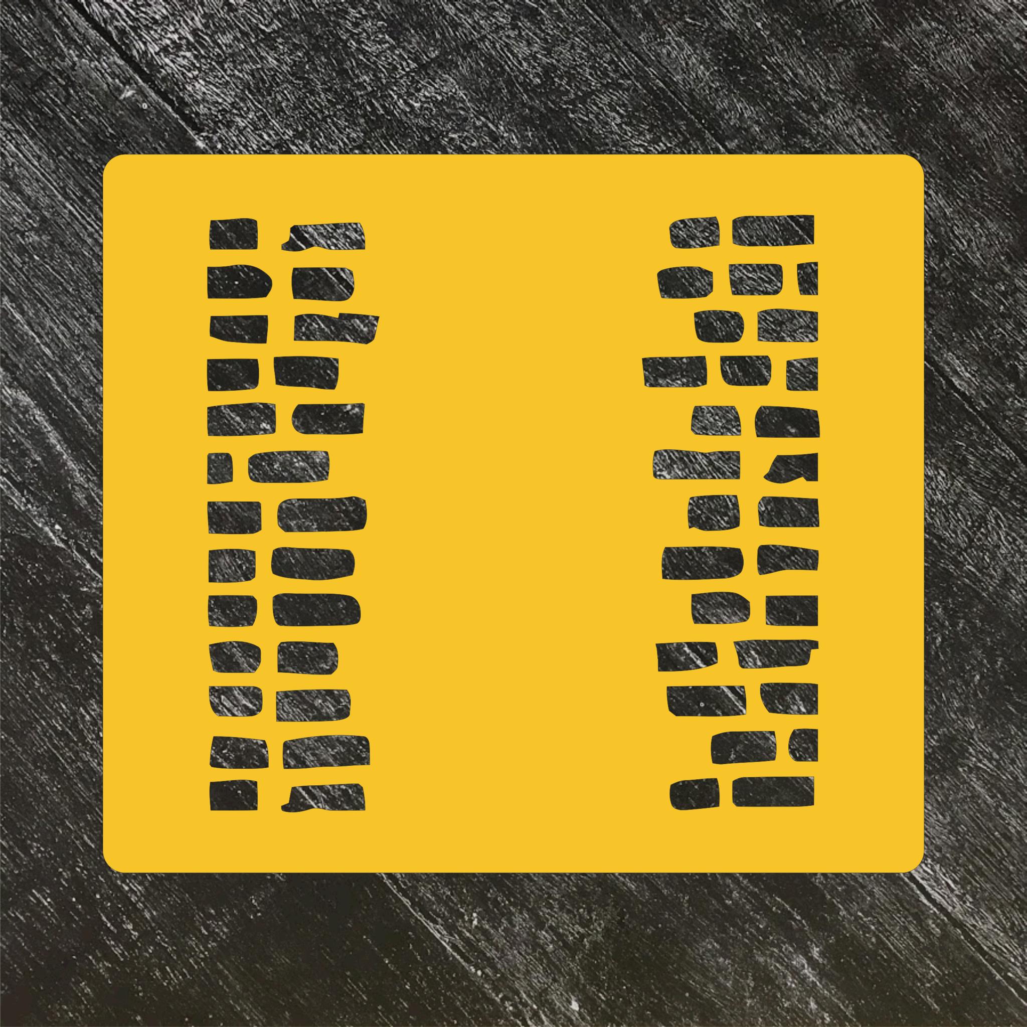 Трафарет-фон №22 Прерывистая кирпичная стенка