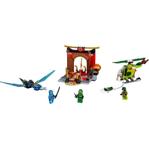 LEGO Juniors: Затерянный храм 10725 — Ninjago Lost Temple — Лего Ниндзяго Джуниорс Подростки