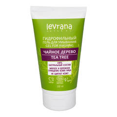 Levrana, Гидрофильный гель Чайное Дерево для умывания кожи лица, 200мл