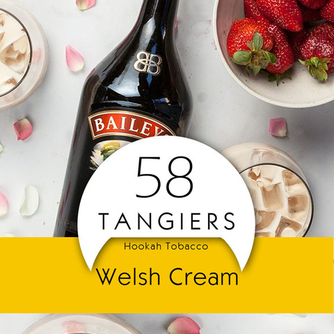 Табак Tangiers Noir Welsh Cream 250 г