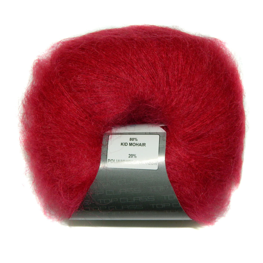 Пряжа Lana Gatto Mohair Royal 12246 красный