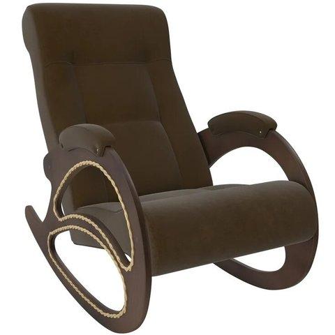 Кресло-качалка Комфорт Модель 4 орех/Verona Brown