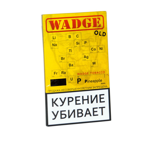 Табак WADGE OLD 100gr PINEAPPLE