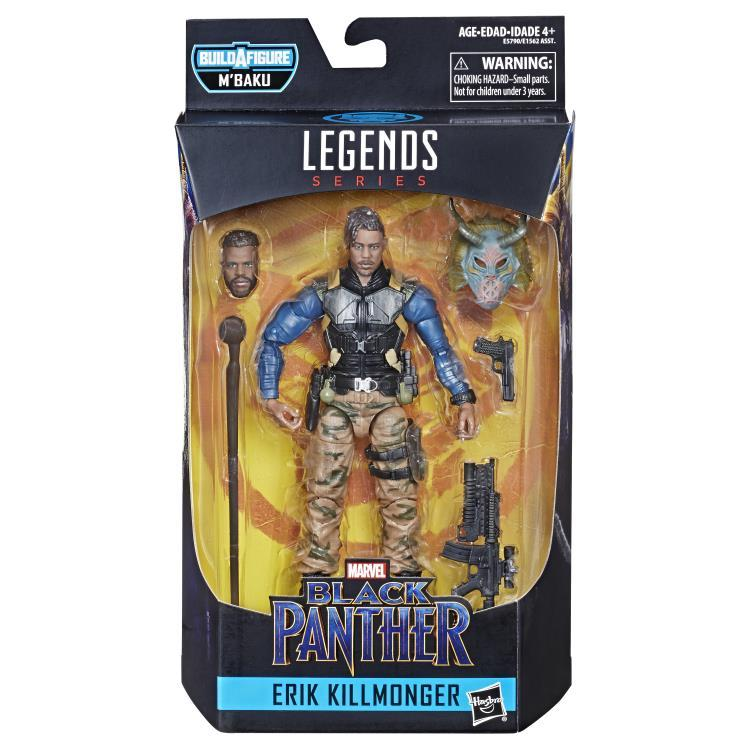 Фигурка Эрик Киллмонгер (Erik Killmonger) Marvel Legends 15 см