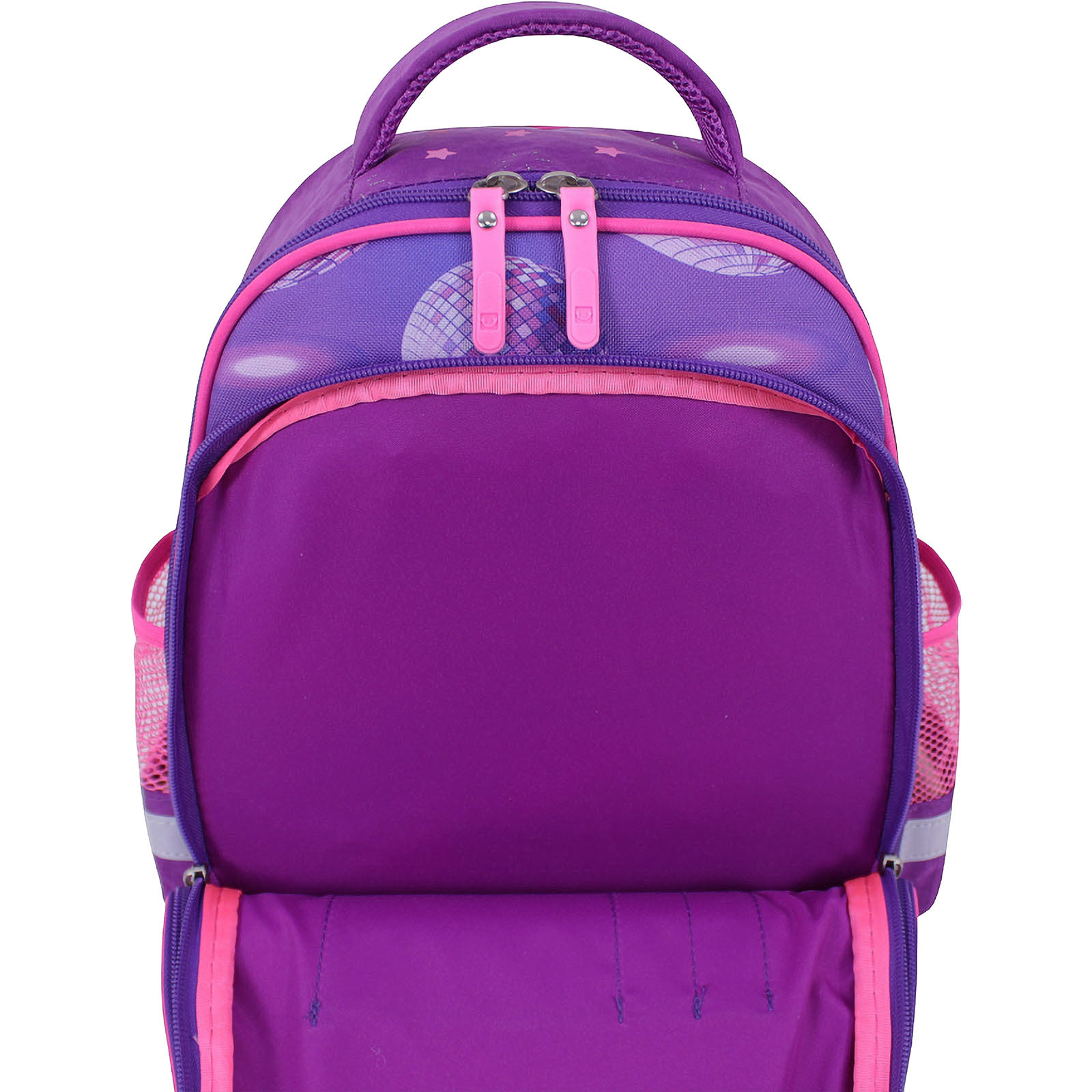 Рюкзак школьный Bagland Mouse 339 фиолетовый 503 (0051370) фото 4