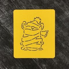 Мышка №33 в шарфе