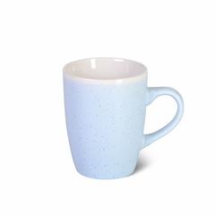 6076 FISSMAN Кружка 380мл, цвет Голубой (керамика)