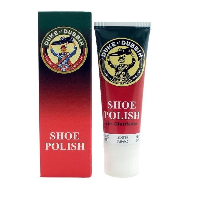 DUKE of DUBBIN Shoe Polish крем для гладкой кожи 75 мл.