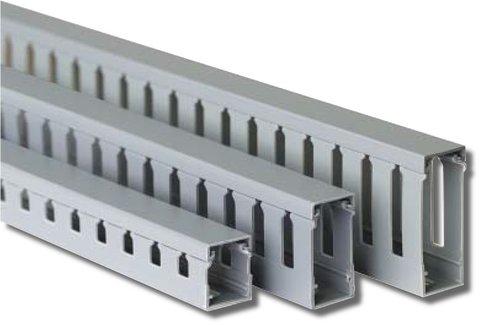 Короб перфорированный, серый RL75 25x30 (00126RL)