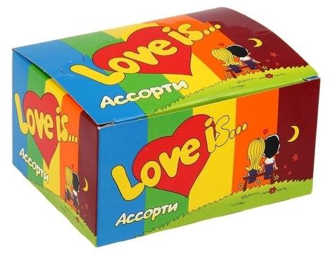 Жевательная резинка Love is… Ассорти 10х4.2 гр