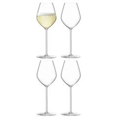 Набор из 4 бокалов для шампанского Borough 285 мл, фото 1