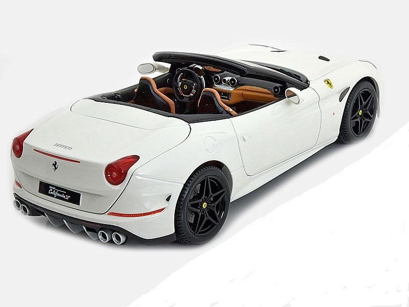 Коллекционная модель Ferrari New California T Hardtop Open 2014 White
