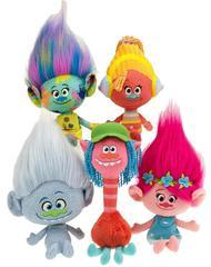 Мягкие игрушки Тролли