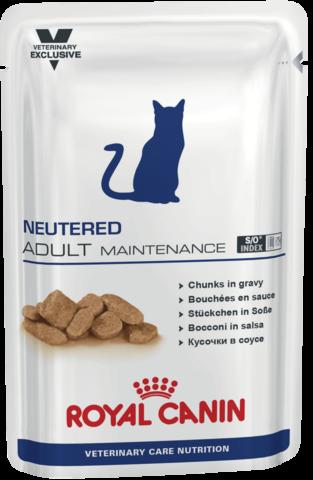 Влажное питание для кастрированных/стерилизованных котов и кошек с момента операции до 7 лет, склонных к избыточному весу