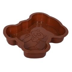 Форма из силикона «Медвежонок» 25х21х4 см
