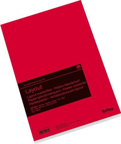 Альбом для маркеров Reflex Layout, А4, 100 л., склейка по короткой стороне