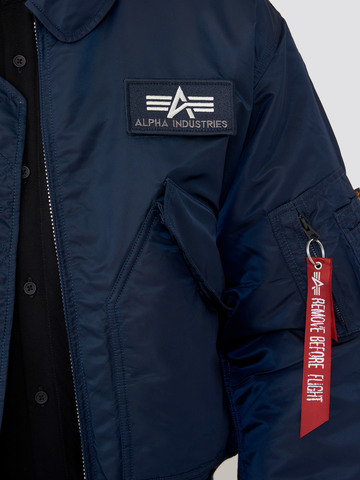 Куртка Alpha Industries CWU 45/P Replica blue (синяя)