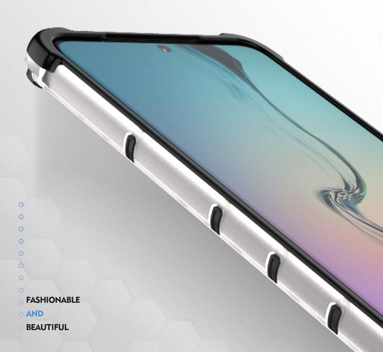 Чехол на телефон Samsung Galaxy S20 Ultra, в тонированном корпусе, ударопрочный  от Caseport, серия Honey