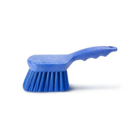 Щетка HACCPER с короткой ручкой жесткая 220мм 4002 B синяя