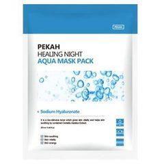 PEKAH Вечерняя восстанавливающая увлажняющая маска Healing Night Aqua Mask Pack, 25ml
