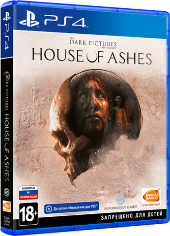The Dark Pictures: House of Ashes (PS4, русская версия)