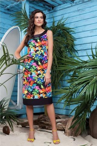 Laete Платье с цветочным принтом