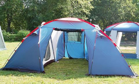 Палатка Canadian Camper SANA 4 PLUS, цвет royal, второй вход.