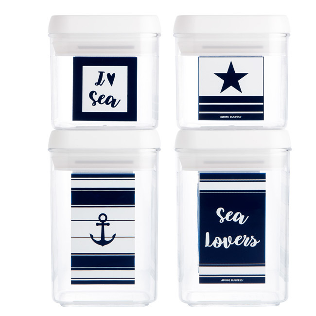 CANISTER SET, SEA LOVERS