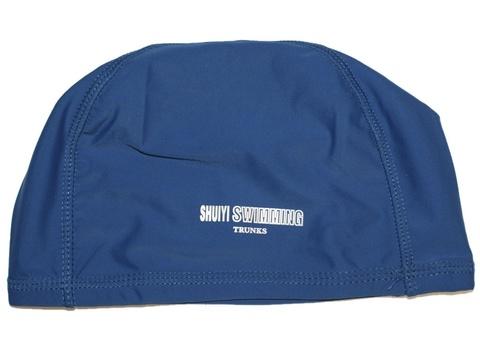 Шапочка для плавания тканевая: AL-1117-ц  (Синий)