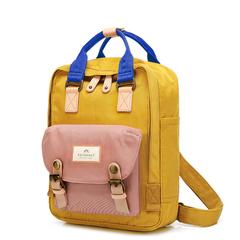 Рюкзак Doughnut Macaroon Mini Classic Горчичный + Розовый