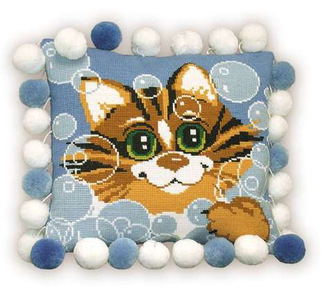 «Подушка «Кот»» (386)