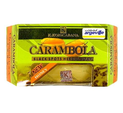 Мыло с пчелиным медом Copacabana Carambola Black Spot Herbal Soap, 130 гр.